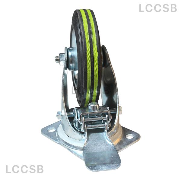 Black Rubber Stopper Wheel